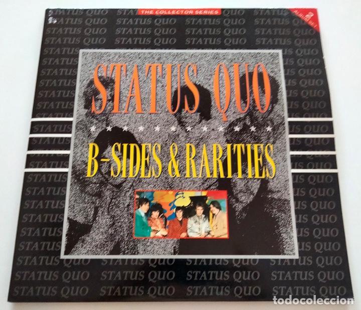 VINILO LP DOBLE DE STATUS QUO. B-SIDES & RARITIES. 1990. (Música - Discos - LP Vinilo - Pop - Rock - New Wave Internacional de los 80)