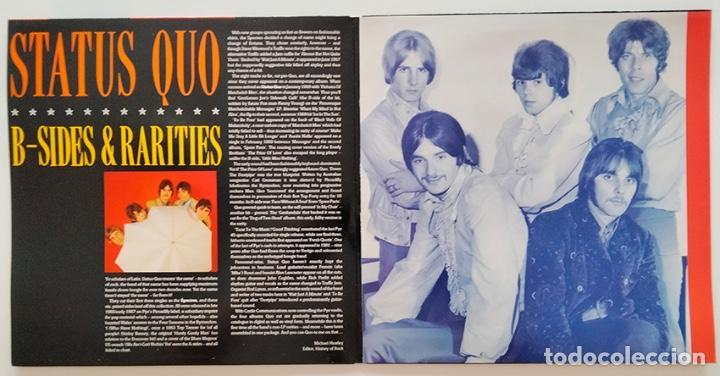 Discos de vinilo: VINILO LP DOBLE DE STATUS QUO. B-SIDES & RARITIES. 1990. - Foto 3 - 287950138