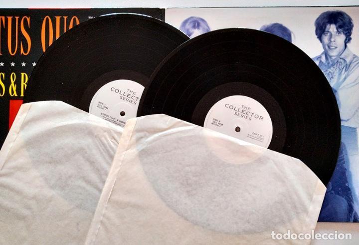Discos de vinilo: VINILO LP DOBLE DE STATUS QUO. B-SIDES & RARITIES. 1990. - Foto 4 - 287950138