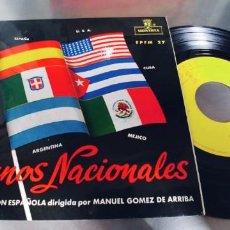 Discos de vinilo: BANDA DE AVIACION ESPAÑOLA-EP HIMNOS NACIONALES. Lote 287960248