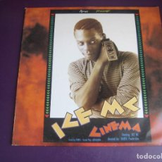 Discos de vinilo: ICE MC – CINEMA - LP METROPOL 1990 - HIP HOP RAP - ELECTRONICA - HOUSE - SIN APENAS USO. Lote 287971633