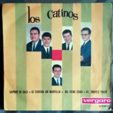 Discos de vinilo: LOS CATINOS – SAPORE DI SALE 1964. Lote 287974393