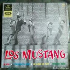 Discos de vinilo: LOS MUSTANG – MI VIDA / Y VOLVAMOS AL AMOR / UN MUNDO SIN AMOR / CONOCERTE MEJOR SPAIN 1964. Lote 287974823