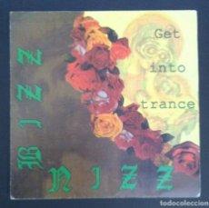 Discos de vinilo: BIZZ NIZZ - GET INTO TRANCE - SINGLE PROMOCIONAL 1990 - SPITFIRE. Lote 287974848