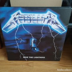 Discos de vinilo: VINILO METALLICA – RIDE THE LIGHTNING. 2LPS, 45 RPM, EUROPA 2008.. Lote 287975078