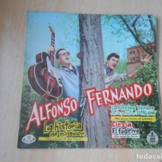Discos de vinilo: ALFONSO Y FERNANDO, EP, LA HISTORIA DE MI AMOR + 3, AÑO 1961. Lote 287975313