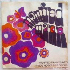 Discos de vinilo: MANFREG MANN PLAYED BY ROB HOEKE R & B GROUP. JOLITA. SINGLE PORTADA DOBLE HOLANDA. Lote 287976148