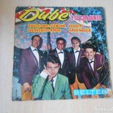 Discos de vinilo: DUBE Y SU CONJUNTO, EP, TWIST, TWIST, SEÑORA + 3, AÑO 1963. Lote 287977073