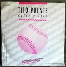 Discos de vinilo: TITO PUENTE – CELIA Y TITO PROMO SPAIN 1991 SALSA. Lote 287980743