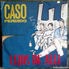 Discos de vinilo: LEJOS DE ALLI – CASO PERDIDO SPAIN 1990 SYNTH-POP. Lote 287982378