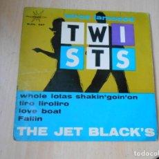 Discos de vinilo: JET BLACK´S, THE - TWISTS -, EP, WHOLE LOTAS SHAKIN´ GOIN´ ON + 3, AÑO 1964. Lote 287982388