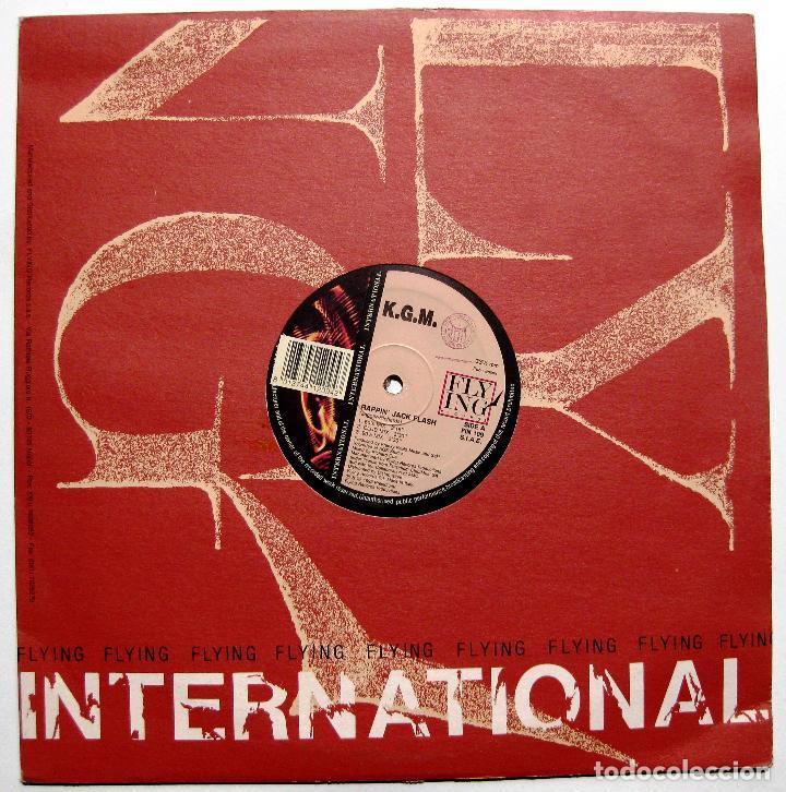 Discos de vinilo: K.G.M. - Rappin Jack Flash (Rolling Stones Cover) - Maxi Flying International 1992 Italia BPY - Foto 2 - 287985043