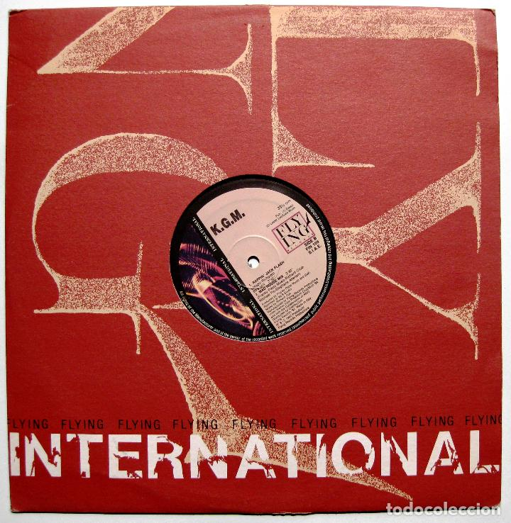 K.G.M. - RAPPIN' JACK FLASH (ROLLING STONES COVER) - MAXI FLYING INTERNATIONAL 1992 ITALIA BPY (Música - Discos de Vinilo - Maxi Singles - Rap / Hip Hop)