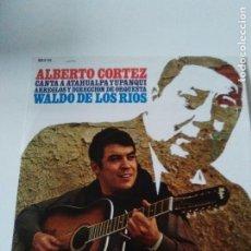 Discos de vinilo: ALBERTO CORTEZ CANTA ATAHUALPA YUPANQUI ( 1968 HISPAVOX ESPAÑA ) WALDO DE LOS RIOS. Lote 287988308