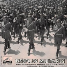 Discos de vinilo: DESFILES MILITARES BANDA POLICIA ARMADA EP 1961 EX. Lote 287988438