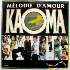 Discos de vinilo: KAOMA - MELODIE D'AMOUR - MAXI EPIC 1990 BPY. Lote 287989083