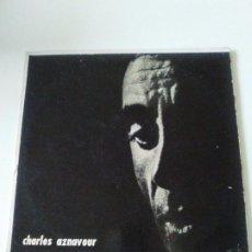 Discos de vinilo: CHARLES AZNAVOUR ( 196? BARCLAY DISC JOCKEY ARGENTINA ). Lote 287992653