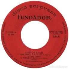 Discos de vinilo: FUNDADOR 10.088 - CONJUNTOS RITMICOS - CHIN CHIN +3 TEMAS - EP SPAIN 1965. Lote 287997678