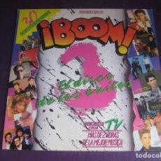 Discos de vinilo: BOOM 3 - DOBLE LP EMI 1987 - BOWIE - SABINA - HOMBRES G - MECANO - LOQUILLO - 30 EXITOS. Lote 287999593