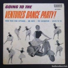 Discos de vinilo: THE VENTURES - GOING TO THE VENTURES DANCE PARTY - EP ESPAÑOL 1961 - LIBERTY. Lote 288000063