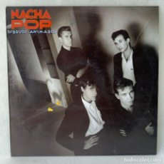 Discos de vinilo: LP - VINILO NACHA POP - DIBUJOS ANIMADOS + ENCARTE - ESPAÑA - AÑO 1985. Lote 288001308