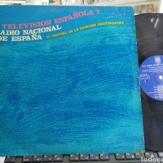 Discos de vinilo: VI FESTIVAL DE LA CANCIÓN MEDITERRÁNEA 1964 ESCUCHADO. Lote 288001578