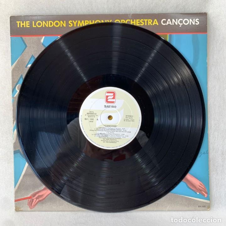 Discos de vinilo: LP - VINILO THE LONDON SYMPHONY ORCHESTRA - CANÇONS - ESPAÑA - AÑO 1983 - Foto 2 - 288001733