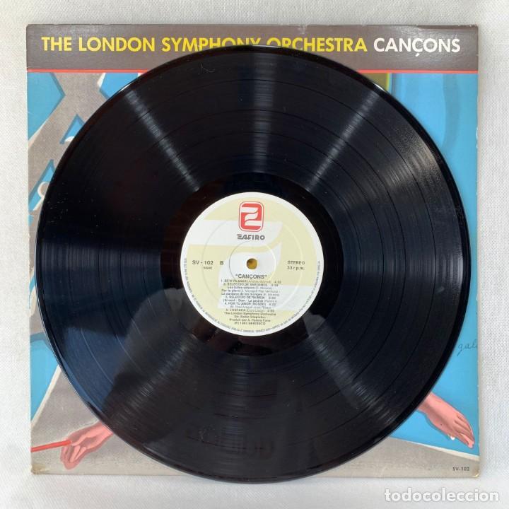 Discos de vinilo: LP - VINILO THE LONDON SYMPHONY ORCHESTRA - CANÇONS - ESPAÑA - AÑO 1983 - Foto 3 - 288001733