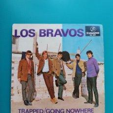 Disques de vinyle: LOS BRAVOS - TRAPPED-GOING NOWHERE. Lote 288005703