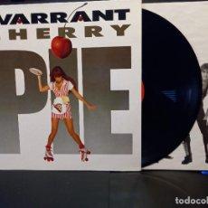 Discos de vinilo: WARRANT CHERRY PIE LP SPAIN 1990 PDELUXE. Lote 288008383