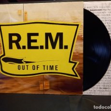 Discos de vinil: REM OUT OF TIME LP EUROPA 1991 PDELUXE. Lote 288009128