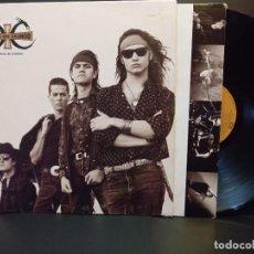 Discos de vinilo: HEROES DEL SILENCIO SENDEROS DE TRAICION LP SPAIN 1990 PDELUXE. Lote 288010868