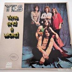 Discos de vinilo: VINILO LP DE YES. TIME AND A WORD. PORTADA EDICIÓN USA. 1983.. Lote 288011143
