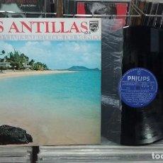 Discos de vinilo: VIAJES ALREDEDOR DEL MUNDO. LAS ANTILLAS. PHILIPS 1973, REF. 63 25 056 -- LP. Lote 288011218