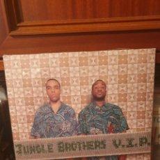 Discos de vinil: JUNGLE BROTHERS / V.I.P. / DOBLE ALBUM / V2 RECORDS 1999. Lote 288018783