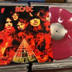 Discos de vinilo: AC/DC HIGHWAY TO HELL LP DISCO DE VINILO COLOR AUSTRALIA. Lote 288019383