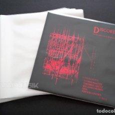 Discos de vinilo: 100 FUNDAS EXTERIORES DE PLÁSTICO GALGA 400 32X32 PARA DISCOS DE VINILO LP 12 MAXI SINGLE - NUEVAS -. Lote 288024413