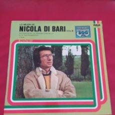 Discos de vinilo: LO MEJOR DE NICOLA DI BARI VOL.II. Lote 288025198