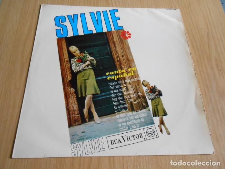 SYLVIE - CANTA EN ESPAÑOL -, LP, BALADA PARA UNA SONRISA + 11, AÑO 1967 (Música - Discos - LP Vinilo - Canción Francesa e Italiana)