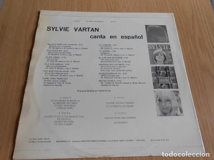 Discos de vinilo: SYLVIE - canta en español -, LP, BALADA PARA UNA SONRISA + 11, AÑO 1967 - Foto 2 - 288025263