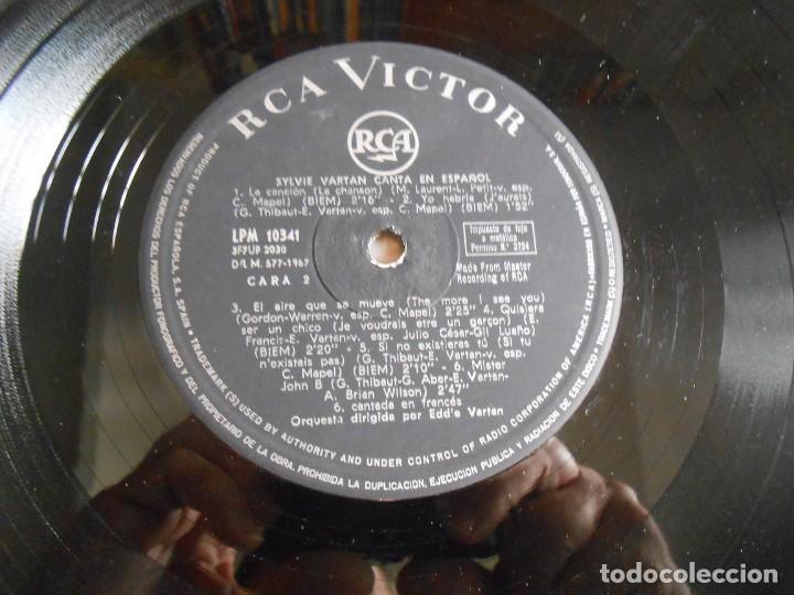 Discos de vinilo: SYLVIE - canta en español -, LP, BALADA PARA UNA SONRISA + 11, AÑO 1967 - Foto 4 - 288025263