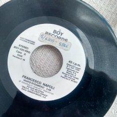 Discos de vinilo: SINGLE (VINILO)-PROMOCION- DE FRANCESO NAPOLI AÑOS 80. Lote 288031083