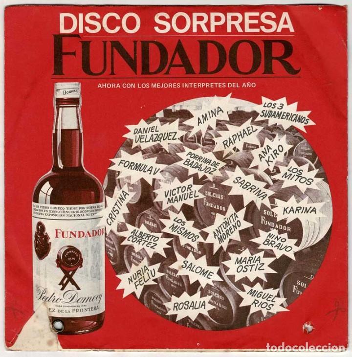 DISCO SORPRESA FUNDADOR. ALBERTO CORTEZ - CUANDO UN AMIGO SE VA + 3. EP (Música - Discos de Vinilo - EPs - Grupos y Solistas de latinoamérica)