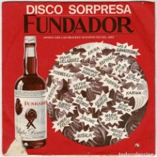 Discos de vinilo: DISCO SORPRESA FUNDADOR. ALBERTO CORTEZ - CUANDO UN AMIGO SE VA + 3. EP. Lote 288035788