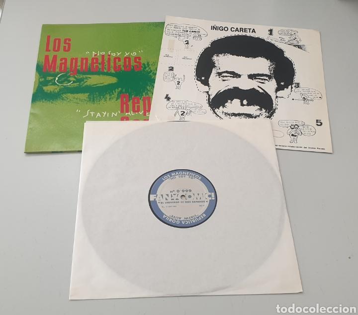 """Discos de vinilo: MAXI 12"""" FAN COMIC N°0999 - LOS MAGNETICOS, PILDORA X +2 (1994) INDIE POP ROCK INCLUYE RECORTABLE! - Foto 3 - 288038303"""