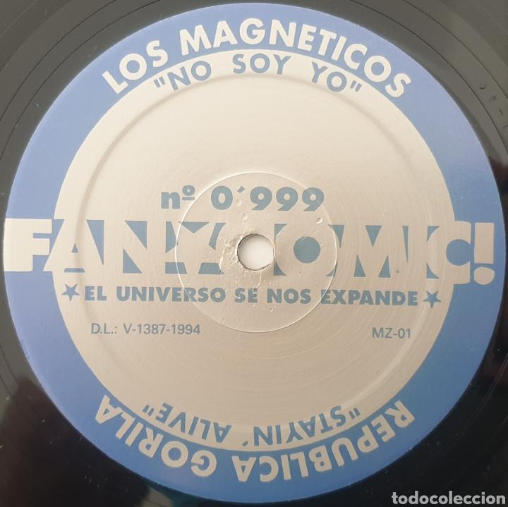 """Discos de vinilo: MAXI 12"""" FAN COMIC N°0999 - LOS MAGNETICOS, PILDORA X +2 (1994) INDIE POP ROCK INCLUYE RECORTABLE! - Foto 5 - 288038303"""
