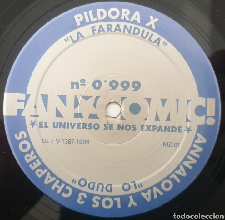 """Discos de vinilo: MAXI 12"""" FAN COMIC N°0999 - LOS MAGNETICOS, PILDORA X +2 (1994) INDIE POP ROCK INCLUYE RECORTABLE! - Foto 7 - 288038303"""