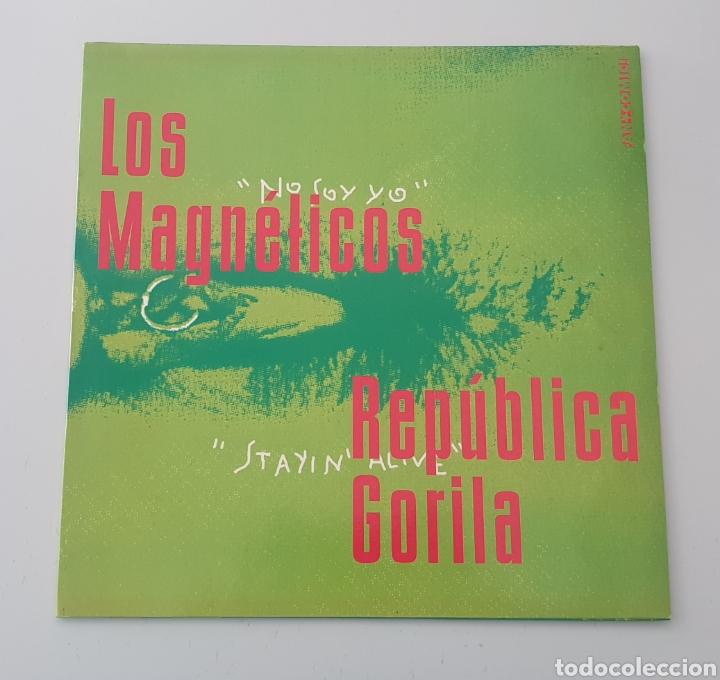 """MAXI 12"""" FAN COMIC N°0'999 - LOS MAGNETICOS, PILDORA X +2 (1994) INDIE POP ROCK INCLUYE RECORTABLE! (Música - Discos de Vinilo - Maxi Singles - Grupos Españoles de los 90 a la actualidad)"""