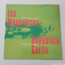 """Discos de vinilo: MAXI 12"""" FAN COMIC N°0'999 - LOS MAGNETICOS, PILDORA X +2 (1994) INDIE POP ROCK INCLUYE RECORTABLE!. Lote 288038303"""