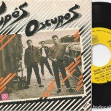 Discos de vinilo: TUPES OSCUROS / SKAPE (EP XIRIVELLA RECORDS 1985) ROCKABILLY / PUNK. Lote 288042313